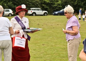 Collection at the Atworth Village Festival